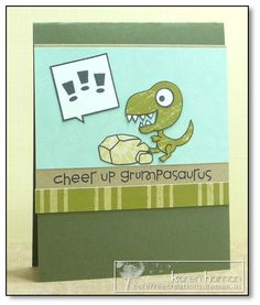 Card by PS GDT Karen using the PS stamp set Cuteasaurus
