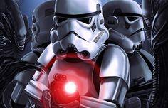 'Star Wars' Meets 'Aliens' in This Fantastic Fan Comic [Halloween Treat]