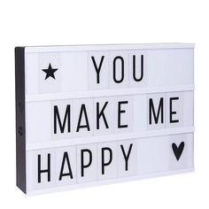 A Little Lovely Company A4 lightbox (zwart) (A4)? Bestel nu bij wehkamp.nl