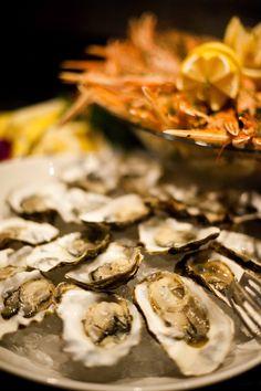 Tasty oysters! http://www.threesixtyrestaurant.com/en/