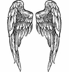 Stempel Engels Flügel