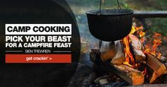 SNOWYS BLOG > Cooking options for campfire season.