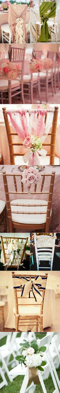 enfeites de cadeiras
