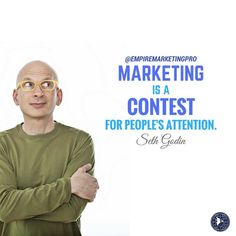 empiremarketingpro🏡👉MARKETING IS A CONTEST FOR PEOPLE'S ATTENTION. -SETH GODIN #empiremarketingpro empiremarketingpro#RealEstate #Realtor #Realty #Broker #ForSale #NewHome #HouseHunting #MillionDollarListing #HomeSale #HomesForSale #Property #Properties #Investment #Home #Housing #Listing #Mortgage #HomeInspection #CreditReport #CreditScore #Foreclosure #NAR #EmptyNest #Renovated #JustListed