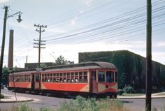 Shore Fast Line trolley in Somers Point (?), NJ
