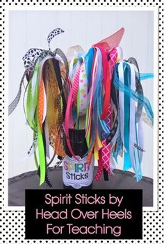 Spirit Sticks to get your students excited about celebrating everyone's success!