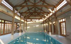 The Green Oak Carpentry Company: Pool Barns