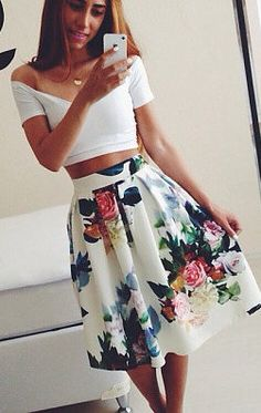 4e5137f4e6 40+ Basic Summer Outfits To Copy Right Now
