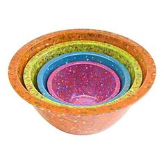 Love these!!  Mixing bowls by Zak Designs