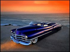Rick Dore's 1950 Cadillac Roadster