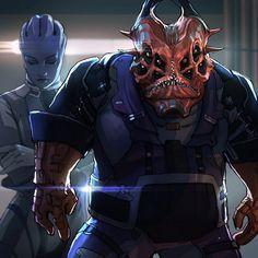 Mass Effect Characters, Mass Effect Games, Mass Effect 2, Star Force, Sci Fi Fantasy, Awesome Stuff, Vector Art, Character Art, Video Games