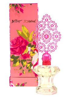 this is my new absolute favorite. always loved her, adore how this smells. very girly, a little powdery, but sweet and a little spicy. yum.    tangerine, praline, pear, red apple, and grapefruit blended with musk, freesia, and blackcurrant