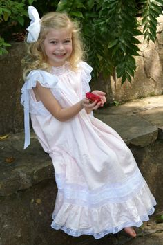 """Heirloom Dress....great blog """"A Little Loveliness"""""""