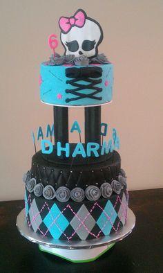 Monster High Cake by Carrie Fredrickson