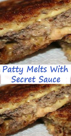 INGREDIENTS: pounds ground beef 2 teaspoons Worcestershire sauce 1 teaspoon kosher salt ½ teaspoon ground black pepper 12 slices sourdough bread ½ cup Secret Sauce 3 medium Vidalia onions, thinly sliced 6 slices Cheddar cheese recipes with ground beef Soup And Sandwich, Sandwich Recipes, Sandwich Melts, Sandwiches For Dinner, Vegan Sandwiches, Chicken Sandwich, Wrap Sandwiches, Beef Dishes, Gourmet