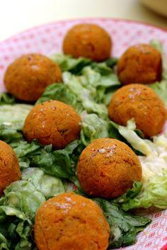 Falafels à la patate douce (au four)