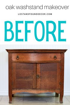 I found this little oak washstand at an estate sale. The finish on the top needed some TLC and the base needed something to brighten it up a bit. For this piece, I chose MMS Milk Paint Bergere. This piece only needed 2 coats, then I distressed it by just running my sandpaper over the finish. I Hemp Oiled the top and then sealed the base with Clear Furniture Wax. #milkpaint Milk Paint Furniture, Repainting Furniture, Furniture Wax, Diy Furniture Projects, Furniture Makeover, White Washed Furniture, Blue Painted Furniture, Furniture Painting Techniques, Painting Tips