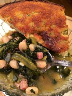 If you love turnip greens, you will love my turnip green soup with ham and beans :)