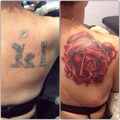 Free hand cover up I did on a grandmother