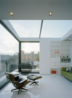 Dive Architects - Soho Apartment with Eames Lounge Chair by Vitra.