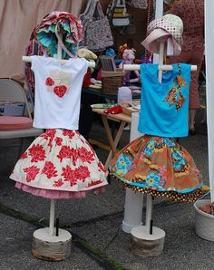 DIY mannequins....cute and adfordable