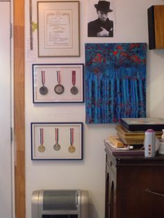Studio 2018 Gallery Wall, Studio, Frame, Home Decor, Homemade Home Decor, A Frame, Frames, Hoop, Decoration Home
