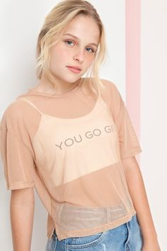 Dressto Blusa tule silk you go girl