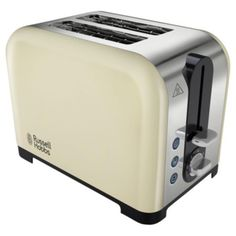 Buy Russell Hobbs Canterbury 22393 2 Slice Toaster - Cream from our Toasters range - Tesco