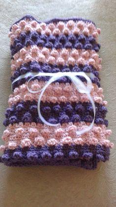 Couverture pour bébé au crochet de la boutique DouceursdeMelissa sur Etsy