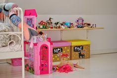 Mor til MERNEE: Pigernes nye værelser....