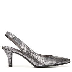 2208562b4f3 Lifestride Women s Shena Slingback Pump Shoes (Pewter) - 5.0 M Slingback  Pump