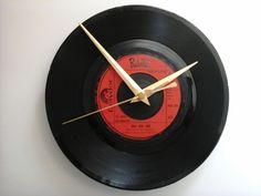 """The rubettes- juke box jive     7"""" vinyl record clock  £7.99"""