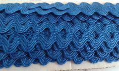 Sianinha Azul Royal  largura 5 mm