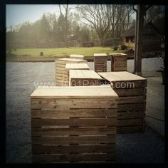 Recycled Pallets Organic Bar !