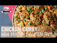 Paleo Chicken Curry with Sweet Potatoes|Gluten Free One Pot Meals