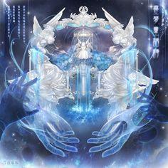 Image in Hell Event Realm of Dreams album Fantasy Landscape, Fantasy Art, Anime Angel Girl, Manga Anime, Anime Art, Nikki Love, Estilo Anime, Cybergoth, Fantasy Characters