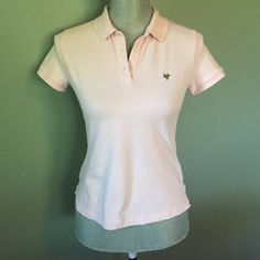 Cute J Crew top Perfect light pink polo J. Crew Tops Tees - Short Sleeve