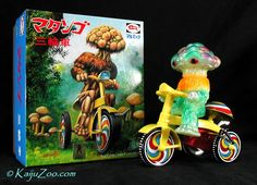 M1GO   GLOW IN THE DARK  MATANGO with TRICYCLE