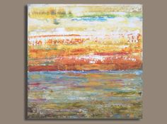 Ocean Sunset Beach Painting