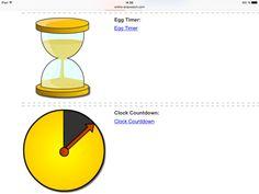 Time-Timer - Gratis. Jeg bruger dem rigtig meget i min daglige undervisning. Børnene ved hvor lang tid en aktivitet varer - Det giver ro, overblik og er et super GRATIS redskab. Du finder dem her; http://www.online-stopwatch.com/classroom-timers/