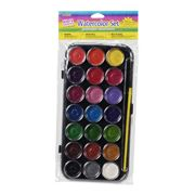 Darice Kids Crafts Watercolor Set Of 21 Colors Kids Watercolor