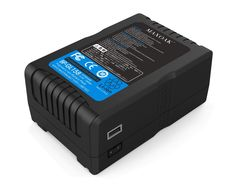 V Mount Battery for Video Camera Camcorder (TSA Approved for Airline Travel,158Wh Lithium-ion Adapter Charger V Lock Battery for Sony Camcorder/ Video camera/BMCC/LED Panel) 10700mAh,Black