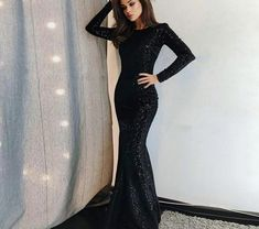 Prom Dresses For Teens, collectionsall?best=Unique Prom Dress Long Sleeve Evening Dress Black Prom Gowns Sequined Evening Dresses Cheap Ulass Online Store Powered by Storenvy Dresses Modest Long Sleeve Evening Dresses, Prom Dresses Long With Sleeves, Cheap Evening Dresses, Black Evening Dresses, Black Prom Dresses, Mermaid Evening Dresses, Cheap Dresses, Evening Gowns, Dress Long