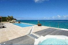 Beachfront Luxury Villa Vacation Rentals with private pool - St Martin - Terres Basses - Baie Rouge Beach - FWI     This new beach front property is absolutely gorgeous with astonishing views where the turquoise Caribbean sea waters and the clear blue sky are only separated by the island of Anguilla emerging in the far horizon    http://www.vacation-key.com/location_6848.html