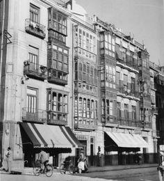 Murcia c.1957 : Business Center Metropolis Empire - Page 365 ¿Qué calle es?¿Podría ser detrás del Arenal hacia la Catedral?