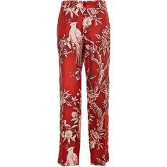 Tartaro Printed Pajama Pant | Moda Operandi ❤ liked on Polyvore featuring intimates, sleepwear, pajamas, pj pants, cropped pyjamas and sleep pants