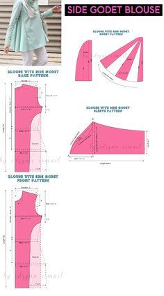 New dress pattern simple women sewing projects 31 ideas New Dress Pattern, Dress Sewing Patterns, Clothing Patterns, Sewing Clothes Women, Dress Clothes For Women, Diy Clothes, Fashion Sewing, Diy Fashion, Fashion Women
