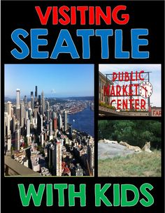 Visiting Seattle with kids - The Adventure Ahead family travel blog Toddler Travel, Travel With Kids, Family Travel, Budget Travel, Travel Tips, Travel Ideas, Seattle Travel, Best Travel Guides, United States Travel