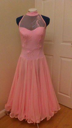 Ballroom Dress neckline style?