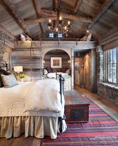 View our picture gallery of the most beautiful log homes and log cabins. View photos of log home interiors, exteriors, kitchens, and architecture. #loghomesexterior #LogHomeInteriors